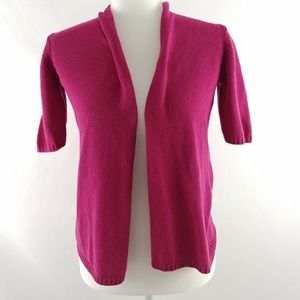 Appleseeds Cardigan Sweater Petite Small Pink